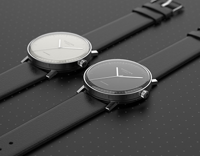 "GEZEITEN: minimal watch ""The Architect"""