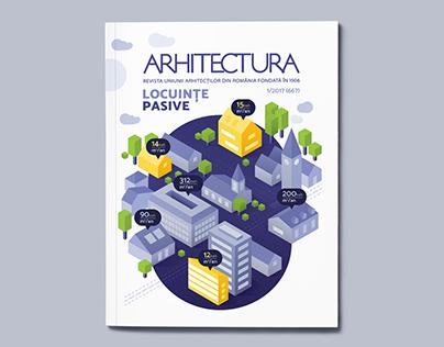 ARHITECTURA Cover design
