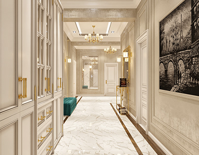 Neoclassical Hall Design