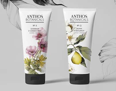 Anthos Botanicals Hand Cream