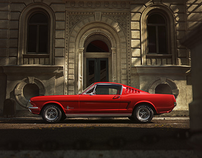 Ford Mustang 65 - CGI