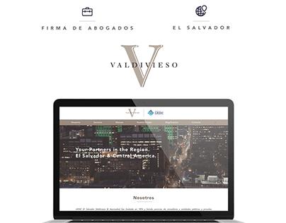 Valdivieso/LEGIC El Salvador - Website