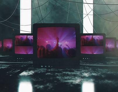 Cyber TV Glitch