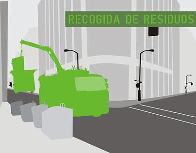 Recisa. Illustrations for web