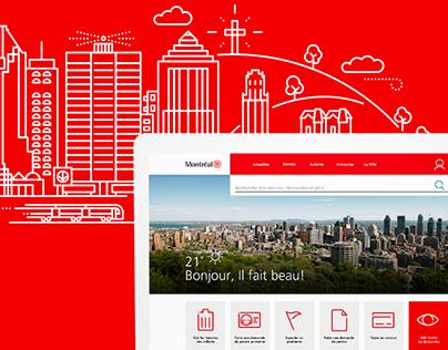 Ville de Montréal - Digital redesign