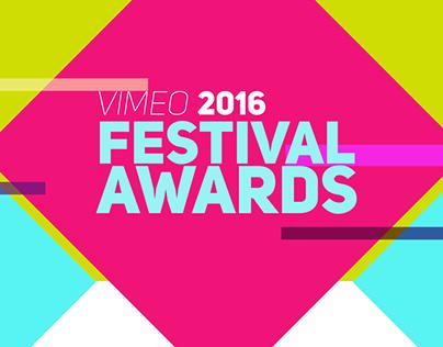 VIMEO FESTIVAL AWARDS 2016