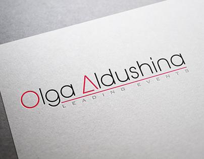 Logo for leading events Olga Aldushina