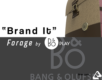 Branding Project - B&O Play Backpack