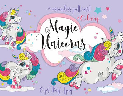 Magical unicorns.