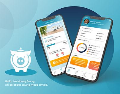 Money Saving App UX/UI