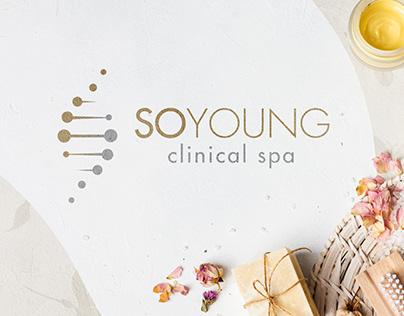 SoYoung Clinical Spa Logo & Brainding Design