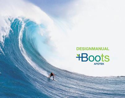 Visuell identitet + designmanual // Boots