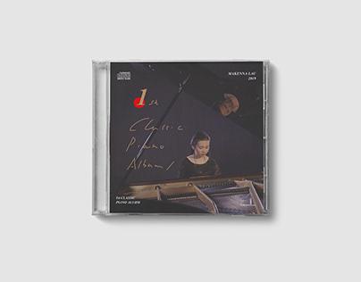 Makenna Lau 首张古典钢琴专辑封面设计/ Album Cover Design