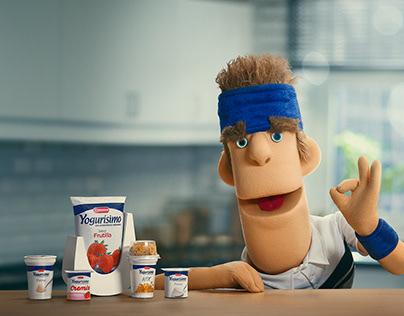 Yogurísimo ad campaign.