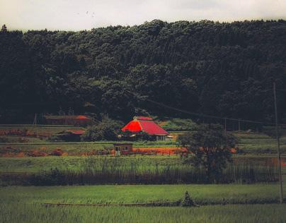Countryside of Oita Prefecture