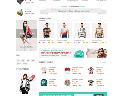 Sagitta - Fashion Equipment Store HTML Template