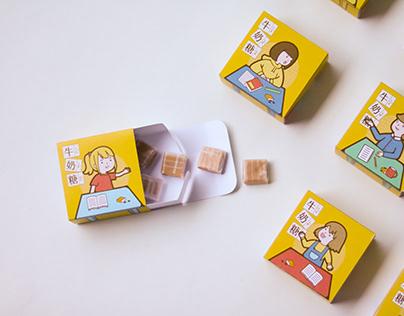 森永牛奶糖包裝設計Morinaga Milk Caramel Packaging Design