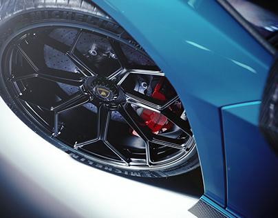 Lamborghini CGI brakes, Complete Set!