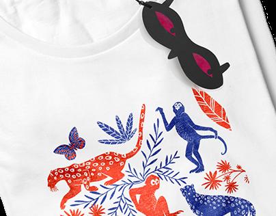 Caché - Fashion - Branding - Textil design