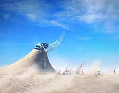 Burning Man Art Installation Concept