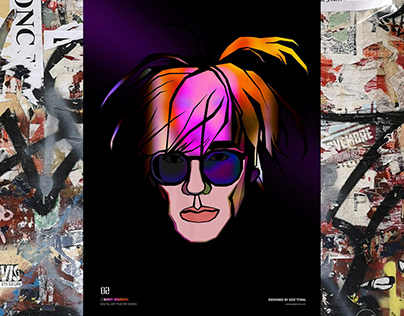 Andy Warhol Procreate Illustration