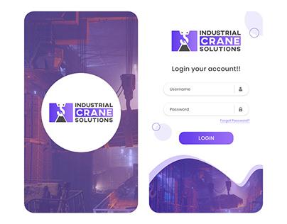 Industrial Crane Solution Mobile App