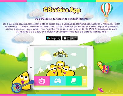 CBeebies (BBC) - UI/UX Redesign App