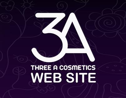 3A Cosmetics Web Site