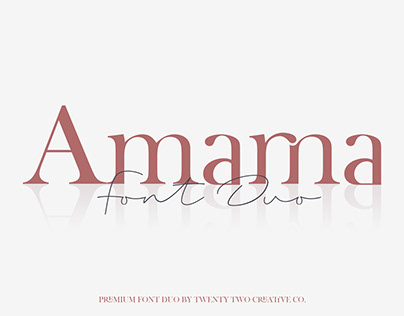 Amarna Font Duo