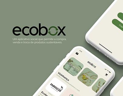 Ecobox - UX/UI App