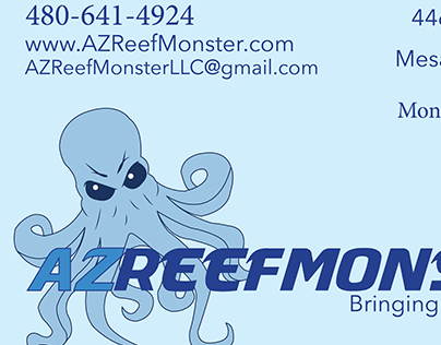AZReefMonster Re-Branding Project