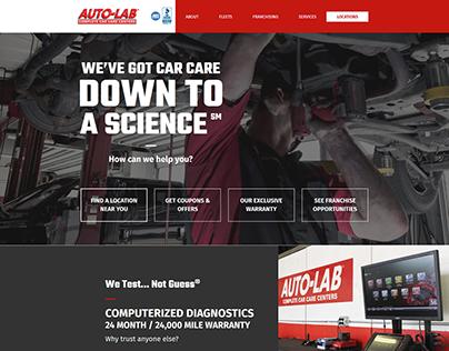 Autolab USA - Web Design
