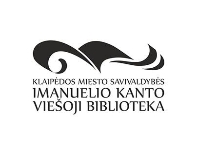 Klaipėdos m. I. Kanto viešosios bibliotekos logotipas