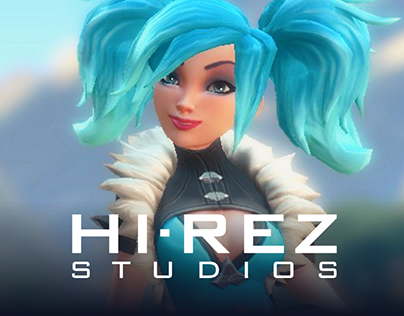 Hi-Rez Studios Launcher on Behance