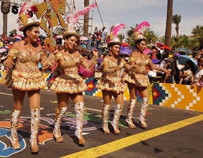 Arica Carnaval Andino 2020 (Morenada)