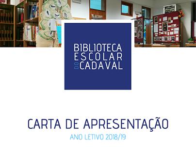 Biblioteca Escolar do Cadaval - Cartão de Apresentação