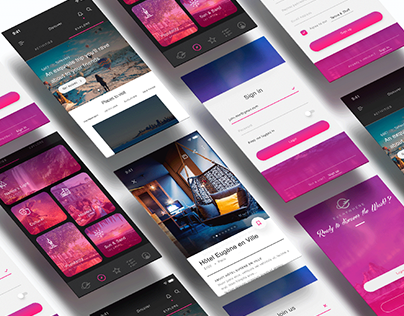 Travel Agency webdesign and UI kit