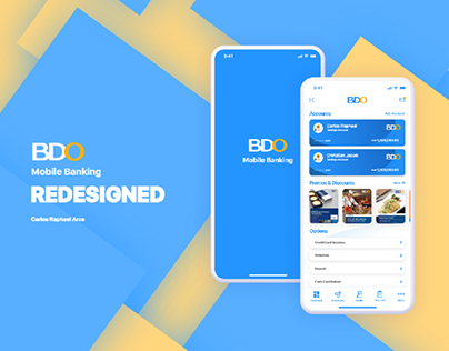 BDO Mobile Banking Redesigned