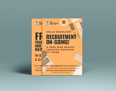 Web Design Training Program by TESDA Poster