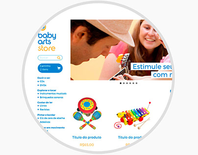 E-commerce Babyarts