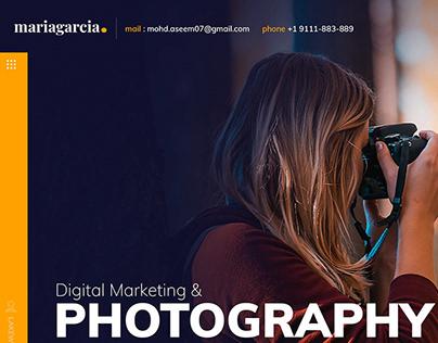 Photographer Portfolio web.