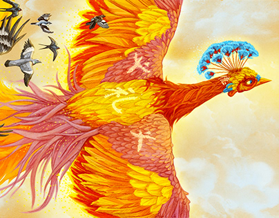Chinese Phoenix and bird migration