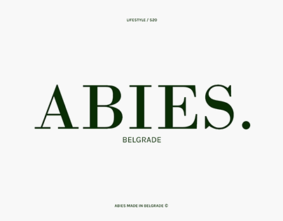 Abies - Luxury Lifestyle Brand
