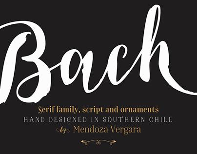 Bach font family