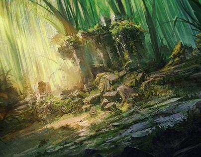 Mouse Guard - Grass Ruins Battle