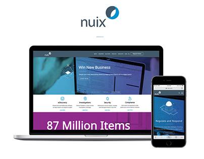 Nuix DOTCOM - Redesign