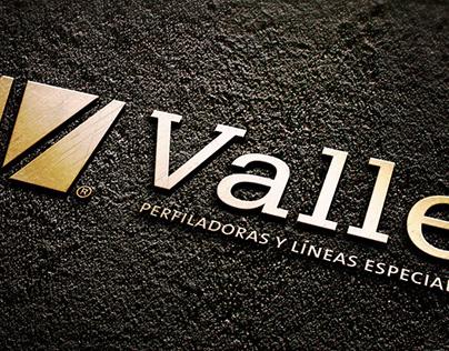 Imagen corporativa y diseño catálogo. VALLE