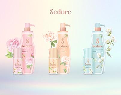 PACKAGING   Sedura Shower gel & Deodorant