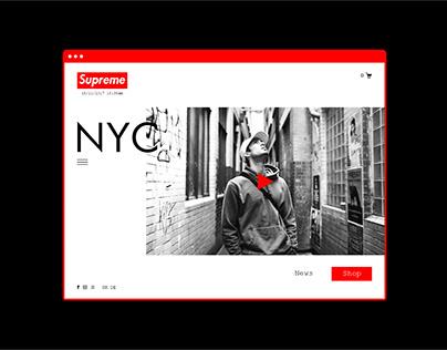 Webdesign - Supreme