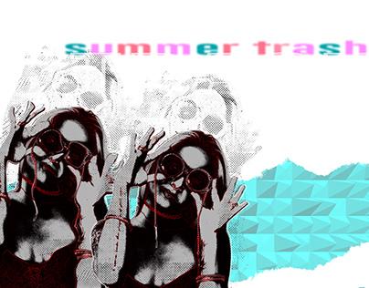 summer trash